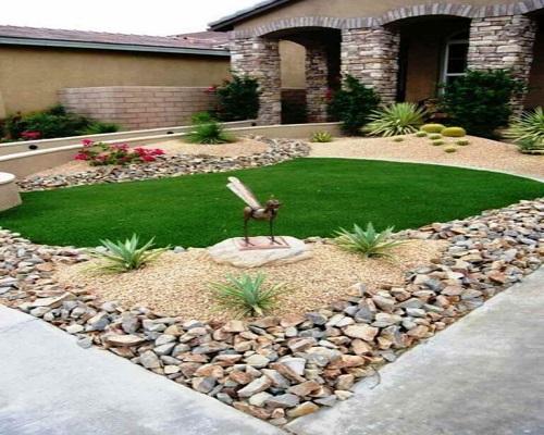 Add A Comfortable Stone Garden
