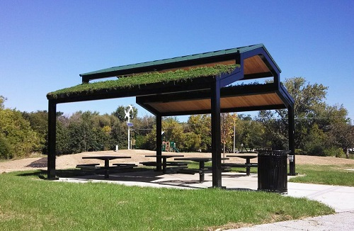 Add A Picnic Shelter For Fun