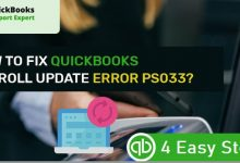 How To Fix Quickbooks Error Ps033, Updated Guide Mashhap