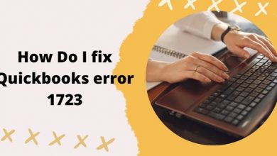 How Do I Fix Quickbooks Error 1723