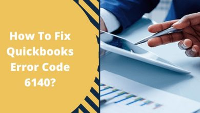 How To Fix Quickbooks Error Code 6140