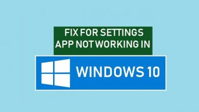 How To Fix Windows 10 Settings App Not Opening
