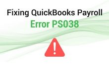 How To Fixed Quickbooks Error Ps038