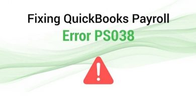 How To Fixed Quickbooks Error Ps038