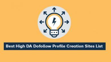 Do Follow Profile Creation Sites List 2020