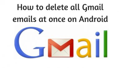 How To Delete All Gmail Emails At Once on Android