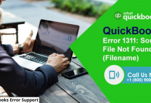 What is QuickBooks Error 1311