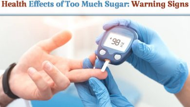 Health Effects of Too Much Sugar-Warning Signs, sugar