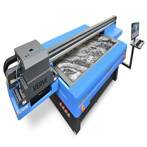 Flatbed UV LED printers