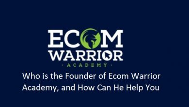 Who is the Founder of Ecom Warrior Academy, and How Can He Help You