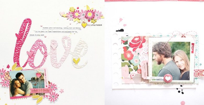 8 Scrapbooking Ideas for Couples