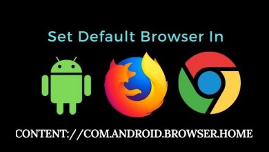 What is contentcom.android.browser.home