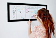 Types of Whiteboard Calendars You May Choose for a Home Office