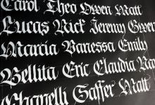 Font Printing
